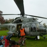 Transport mit Super Puma